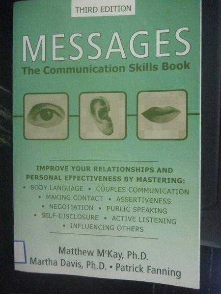 【書寶二手書T5/行銷_ZEG】Messages: The Communication