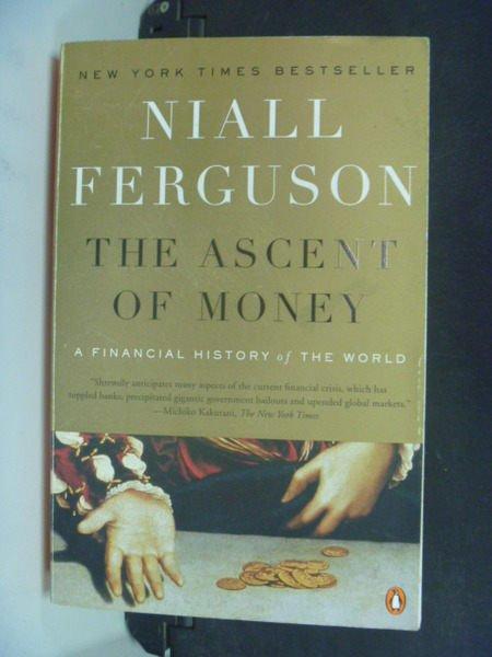 【書寶二手書T4/社會_LRI】The Ascent of Money_Ferguson, Niall