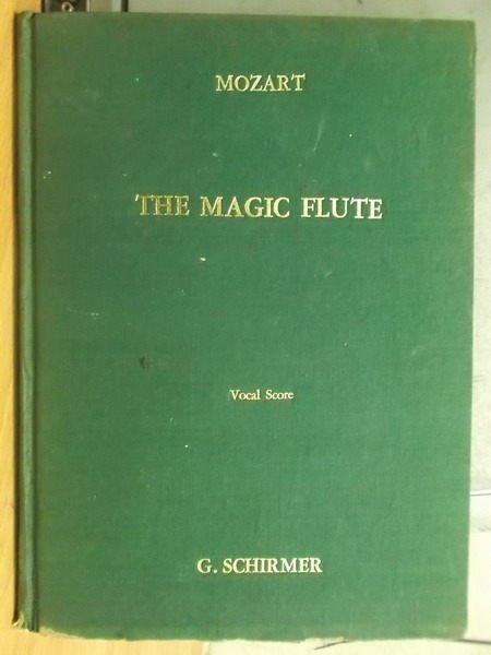 【書寶二手書T4/音樂_ZGQ】Mozart_Magic Flute魔笛_Vocal Score