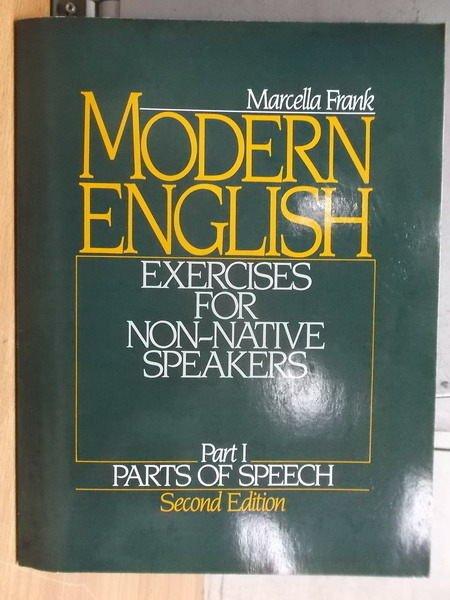 【書寶二手書T6/語言學習_YKP】Monern English_Part1