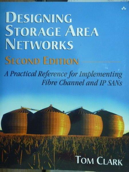 【書寶二手書T9/大學資訊_QBP】Designing Storage Area Networks_2/e