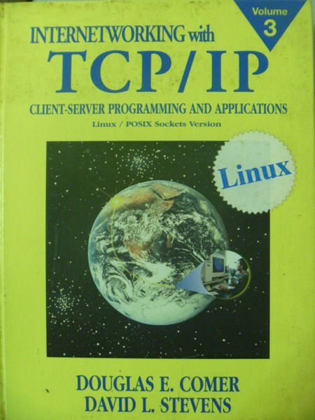 【書寶二手書T4/大學資訊_ZER】INTERNETWORKING WITH TCP/IP VOL.3