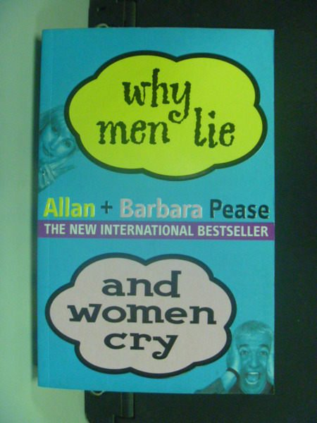 【書寶二手書T3/兩性關係_KCJ】Why Men Lie and Women Cry