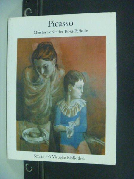 【書寶二手書T9/藝術_KBA】Picasso : meisterwerke der rosa periode
