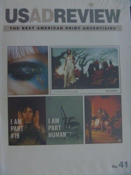 【書寶二手書T9/廣告_YJF】US AD Review_no.41_The Best American…