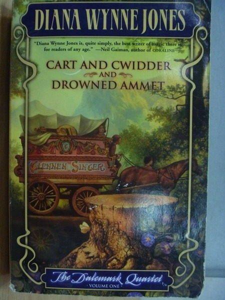 【書寶二手書T4/原文小說_MFQ】Cart and Cwidder and Drowned Ammet_Diana