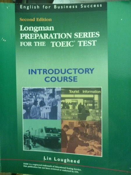 【書寶二手書T9/語言學習_PMW】Longman…Test:Introductory Course_2/e