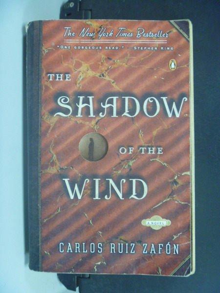 【書寶二手書T3/原文小說_KDJ】The Shadow Of The Wind