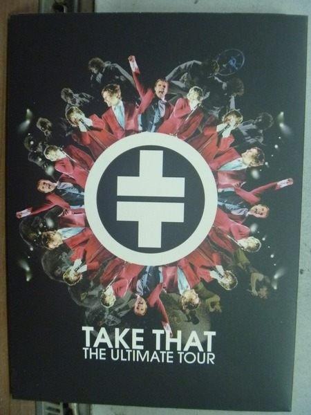 【書寶二手書T8/音樂_HNU】Take That_The Ultimate Tour