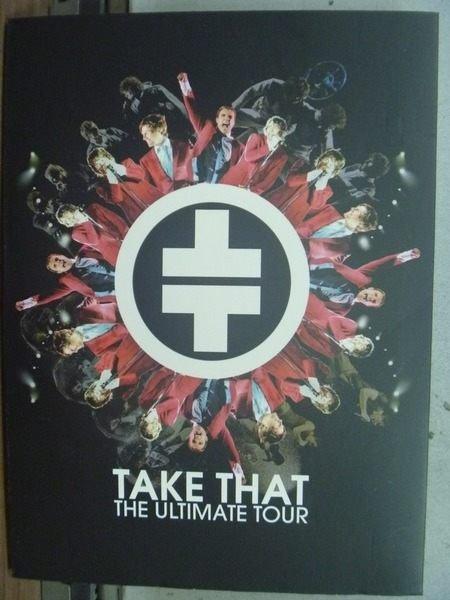 【書寶二手書T7/音樂_HPE】Take That_The Ultimate Tour