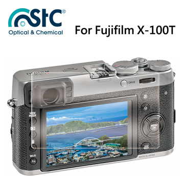 【STC】For Fujifilm X100T - 9H鋼化玻璃保護貼