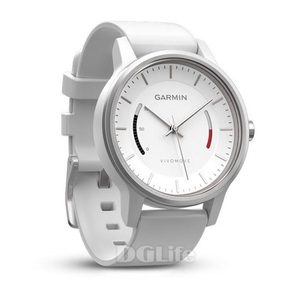 GARMIN Vivomove 智慧指針式錶 律動白