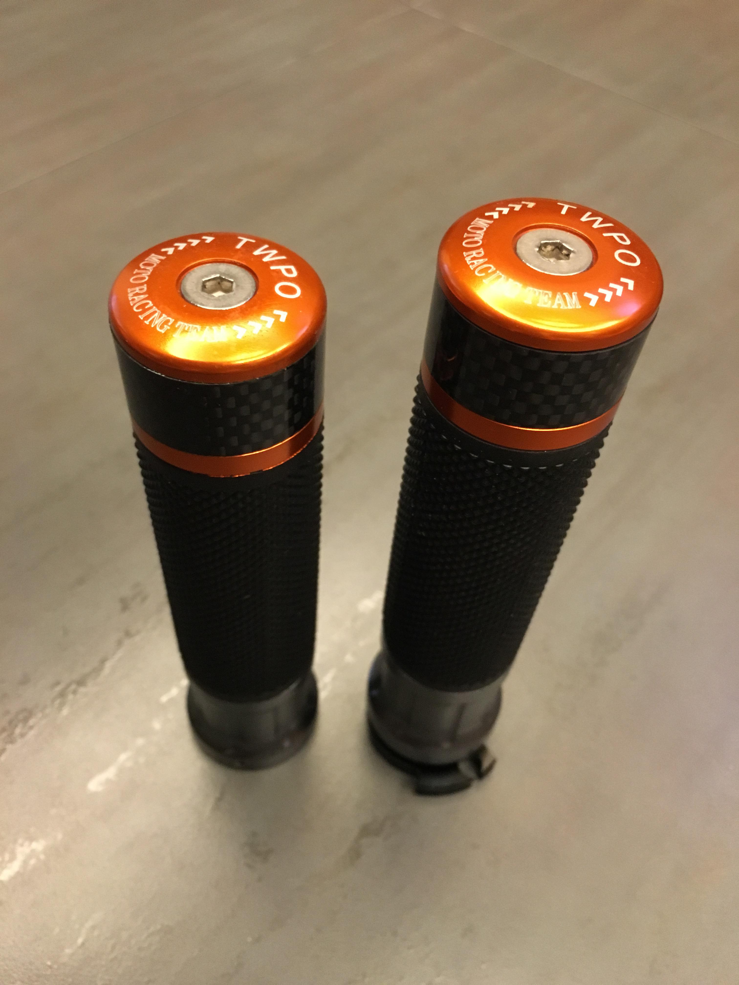 【改裝王國】TWPO HONDA MSX125 一體式碳纖維握把套