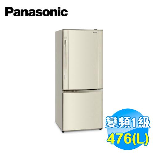 國際 Panasonic 435公升 雙門變頻冰箱 NR-B485HV-N