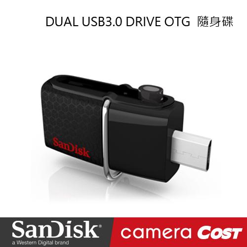 SanDisk DUAL USB3.0 DRIVE OTG 64GB 隨身碟 (公司貨)