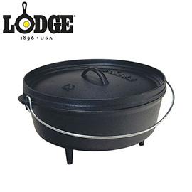 美國 LODGE 16吋 荷蘭鍋L16CO3 (美國製) 鑄鐵鍋 露營 登山