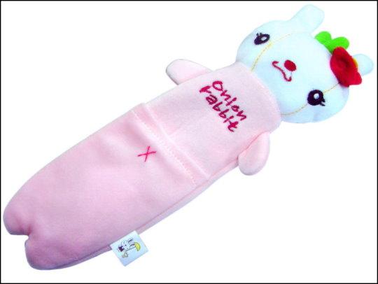 《清倉鋪》 Onion rabbit 洋蔥兔絨毛筆袋 12個一組 買四組最便宜一個只要55元