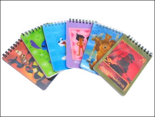 《清倉鋪》 迪士尼授權筆記本72K 每一本60張內頁  (多款圖案,隨機出貨) 買四組最便宜一本只要15元