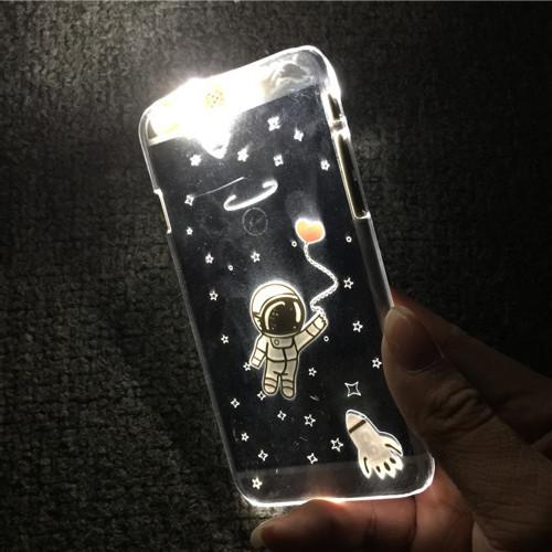【LA STORES】iphone太空人來電閃光 手機殼