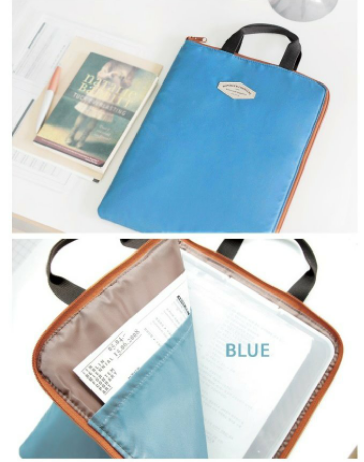 iconic 文件收納包 公文包(淺藍色) iPad包Basic Pouch A4