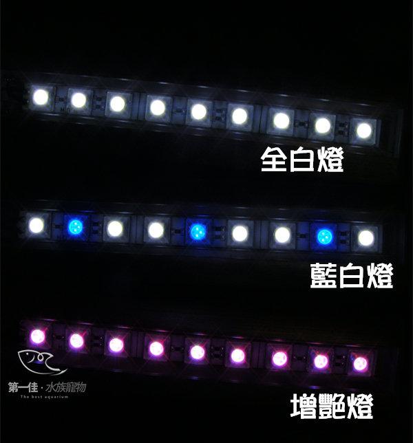 [第一佳 水族寵物] 台灣伊士達ISTA 高亮度LED夾燈 [24cm-紅白增艷燈 (桃紅)] 免運