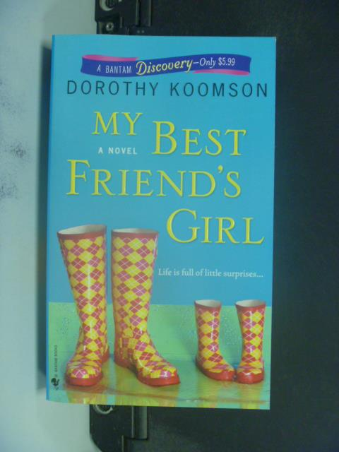 【書寶二手書T1/原文小說_KJM】My Best Friend's Girl_Koomson