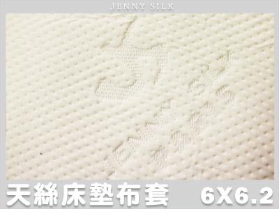 【名流寢飾家居館】JS 100%天絲緹花.乳膠/記憶/杜邦床墊專用布套.加大雙人.全程臺灣製造