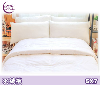 【名流寢飾家居館】PB立體95%羽絨被.260T純棉防絨表布.單人尺寸.全程臺灣製造