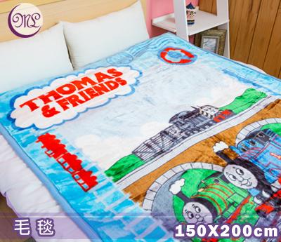 【名流寢飾家居館】湯瑪士火車.高鐵.高密度超細纖維厚毛毯