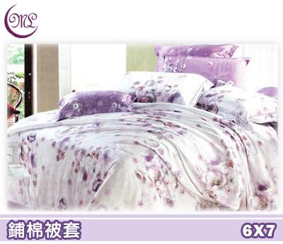 【名流寢飾家居館】薔薇戀曲.輕柔天絲.雙人兩用鋪棉被套.全程臺灣製造