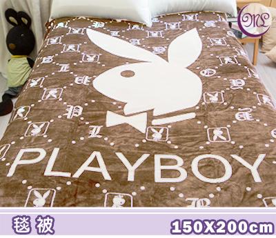 【名流寢飾家居館】PLAYBOY.100%珊瑚絨.柔軟舒適.細緻保暖.冷氣毯.毛毯