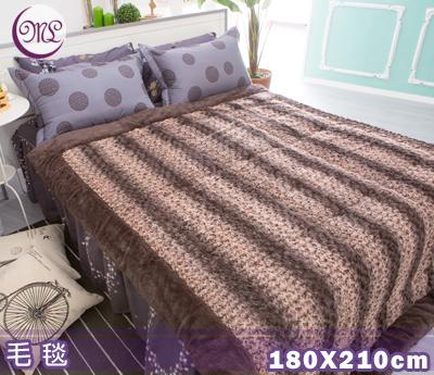 【名流寢飾家居館】皇室玫瑰.遠紅外線.高密度超柔毛毯被.日本製造