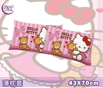 【名流寢飾家居館】Hello Kitty.麻吉熊.薄枕頭套.全程臺灣製造.單件