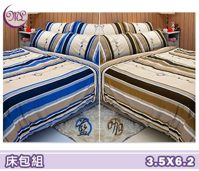 【名流寢飾家居館】尋夢園.100%精梳棉.加大單人床包組.全程臺灣製造