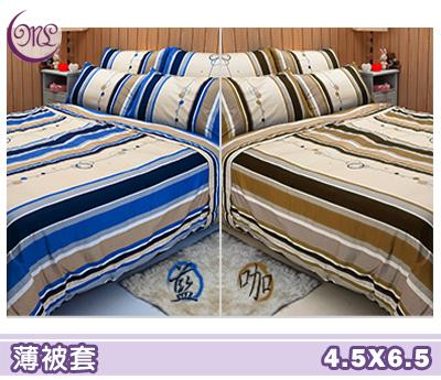 【名流寢飾家居館】尋夢園.100%精梳棉.單人薄被套.全程臺灣製造