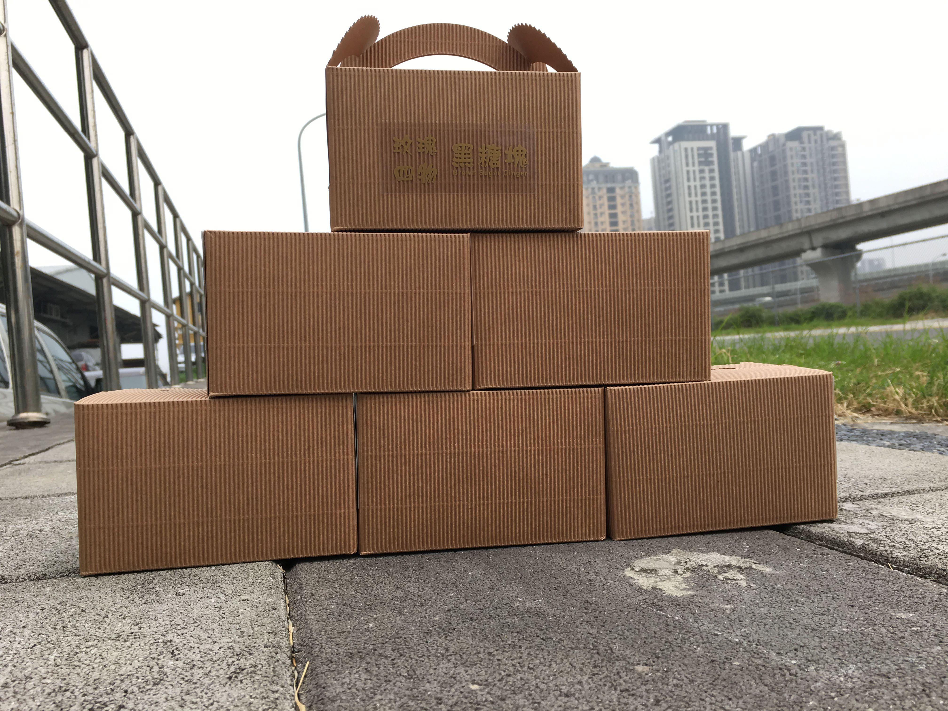 ★年節禮盒特賣【桂花黑糖塊】10入/300g 黑糖茶磚/養生茶飲