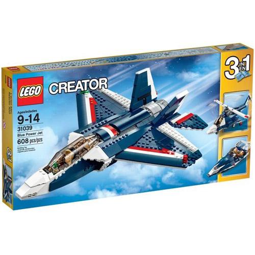 【LEGO樂高積木】Creator系列 - 藍色動力噴射機 LT 31039
