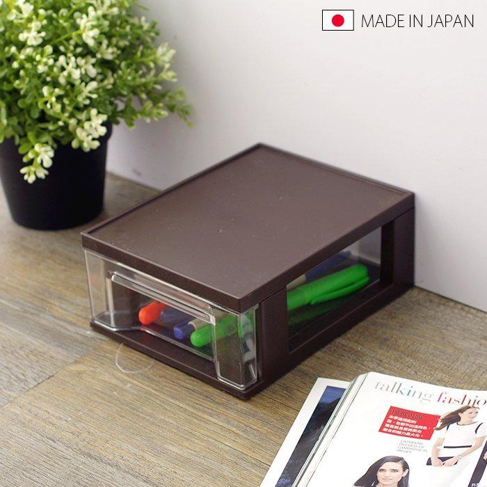 BO雜貨【SV5161】日本製 抽屜盒 收納盒 置物盒 抽屜櫃 辦公桌置物盒 小物收納 文具筆筒