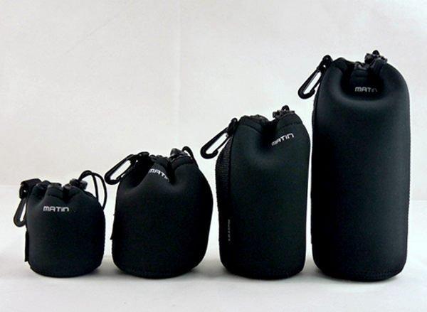 攝彩@Matin馬汀 鏡頭袋、鏡頭筒,S號,防撞、防水、高彈性。加厚型。-20509