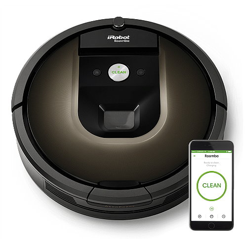 (12/12前97折再送點數16%5300點(元)請見內文)iRobot Roomba 980 WiFi 第9代機器人支援APP 遠端控制變頻掃地機 / 吸塵器( Pokemon 寶可夢 孵蛋機 )