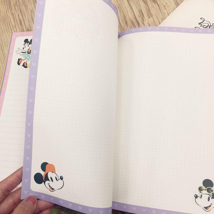 PGS7 (現貨+預購) 日本迪士尼系列商品 - 迪士尼 米奇米妮 2017 日誌 筆記本 記事本 行事曆 手帳本