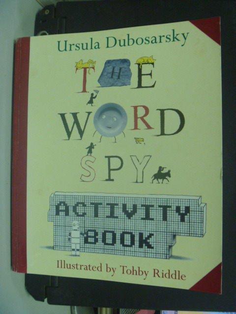 【書寶二手書T2/原文小說_KGZ】The Word Spy_Ursula Dubosarsky