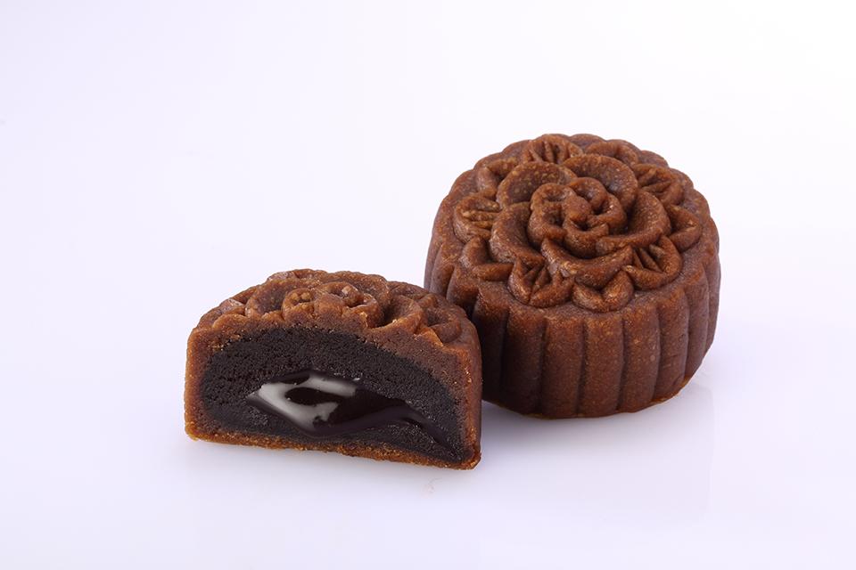 巧克力流芯月餅-精緻鐵盒4入裝