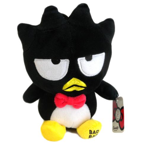 【真愛日本】15091400001 6吋吊坐娃-紅領結酷企鵝 三麗鷗 布丁狗 Pom Pom 娃娃 吊飾 吊娃