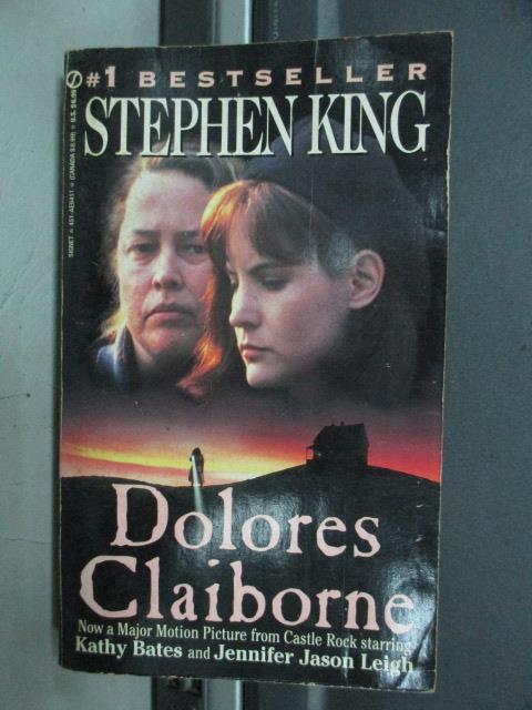 【書寶二手書T1/原文小說_NDH】Dolores Claiborne_Stephen King史蒂芬金
