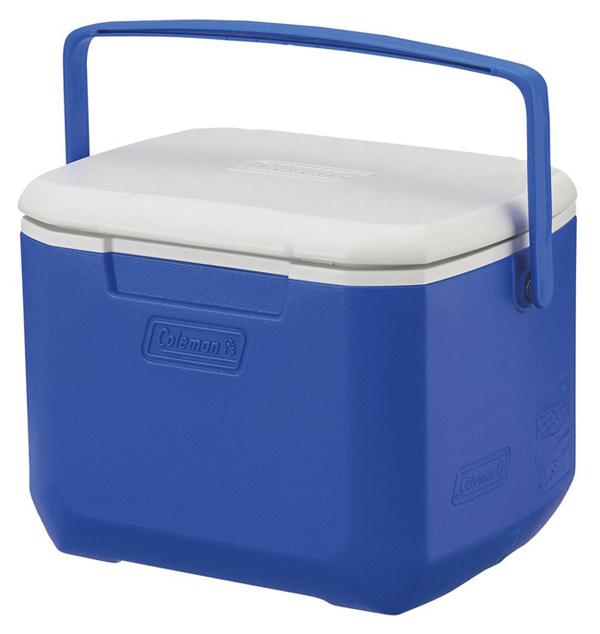 【鄉野情戶外專業】 Coleman |美國| 15L Excursion 手提冰箱/冰桶 保鮮桶 保冰箱-藍/CM-27860M000