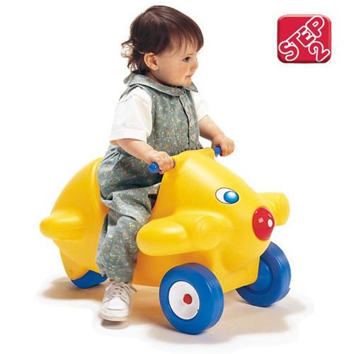 【美國 STEP2】童樂園-噴射機腳行車 12007651