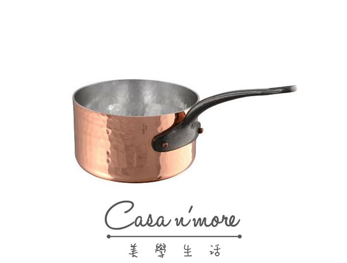 Mauviel M'tradition 銅鍋 單柄 蜂巢 醬汁鍋 16cm