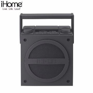 iHome - iBT4無線藍牙可攜式收音機喇叭 FM收音機 內建充電電池