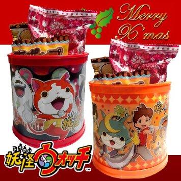 有樂町進口食品 日本限定 交換禮物 HEART 妖怪手錶筆筒罐 單個399元 隨機出 4977629615990